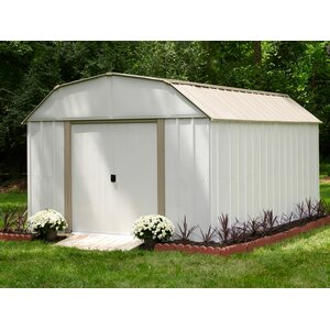 Lexington 10 ft. 3 in. W x 13 ft. 7 in. D Metal Storage Shed