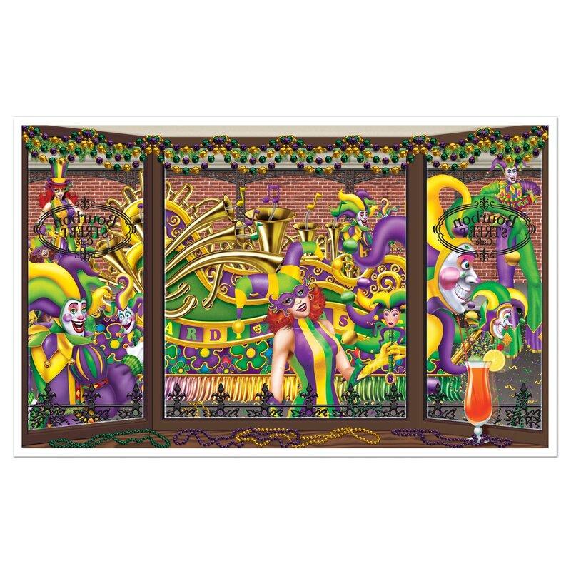 Finkelstein Mardi Gras Wall Decor - Pretty Mardi Gras Wall Art