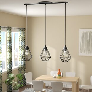 Ivy Bronx Taplin 3-Light Kitchen Island Pendant