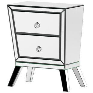 Anvers 2 Drawer Nightstand