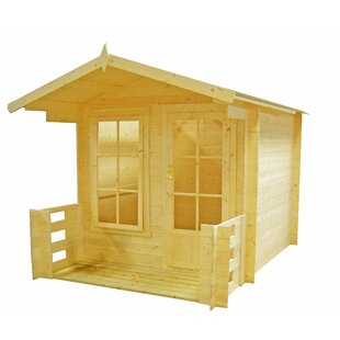 7 X 10 Ft. Tongue & Groove Summer House By Sol 72 Outdoor