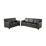 Antroine 2 Piece Standard Living Room Set by Red Barrel Studio®