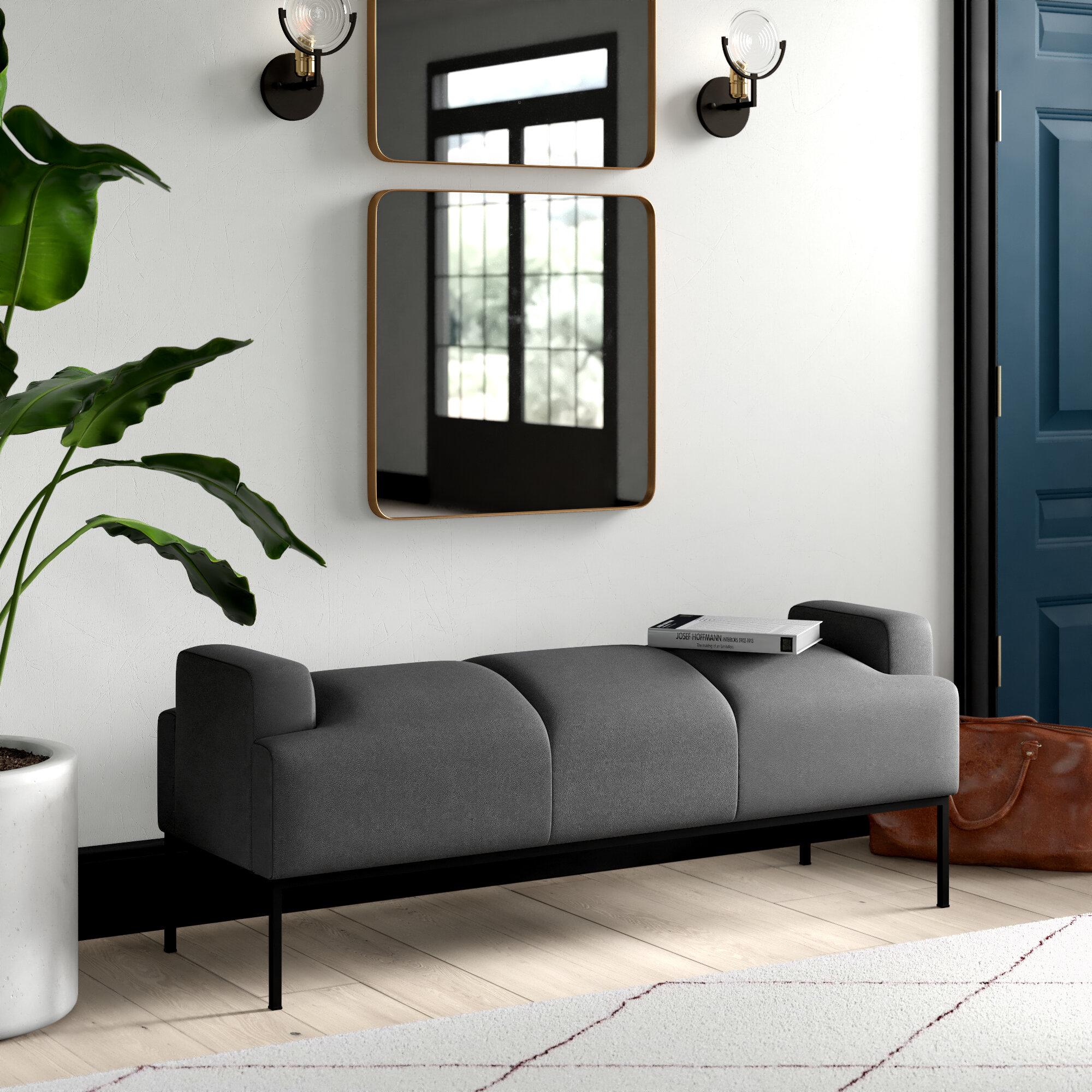 Outstanding Stickley Faux Leather Bench Inzonedesignstudio Interior Chair Design Inzonedesignstudiocom