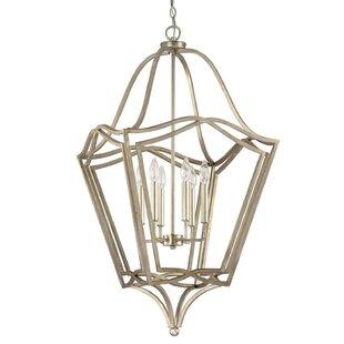 Charlton Home Whipple 6-Light Lantern Pendant
