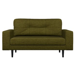 Shop Binns Oxford Weave Loveseat by Corrigan Studio