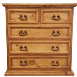Devoe Traditional 5 Drawer Bachelor's Chest by Millwood Pines