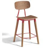 Andrew Solid Wood Bar Stool (Set of 50) by sohoConcept