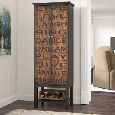 Tall Narrow Bar Cabinet Wayfair