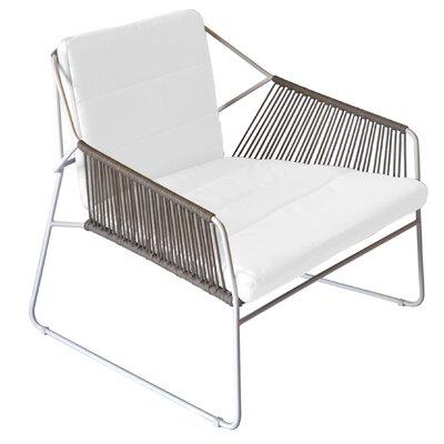 Oasiq Sandur Patio Chair With Cushions Frame Color Terra
