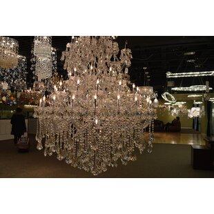 Astoria Grand Kiazolu 61-Light Candle Style Chandelier
