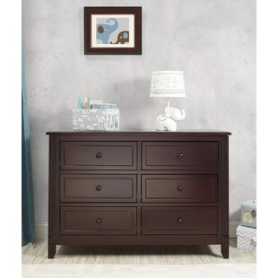Berkley 6 Drawer Double Dresser By Sorelle
