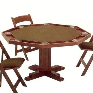 Price comparison 52 Pedestal Base Poker Table ByKestell Furniture