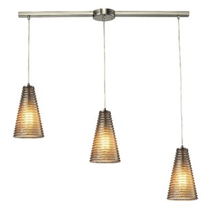 Govan 3-Light Pendant by Brayden Studio