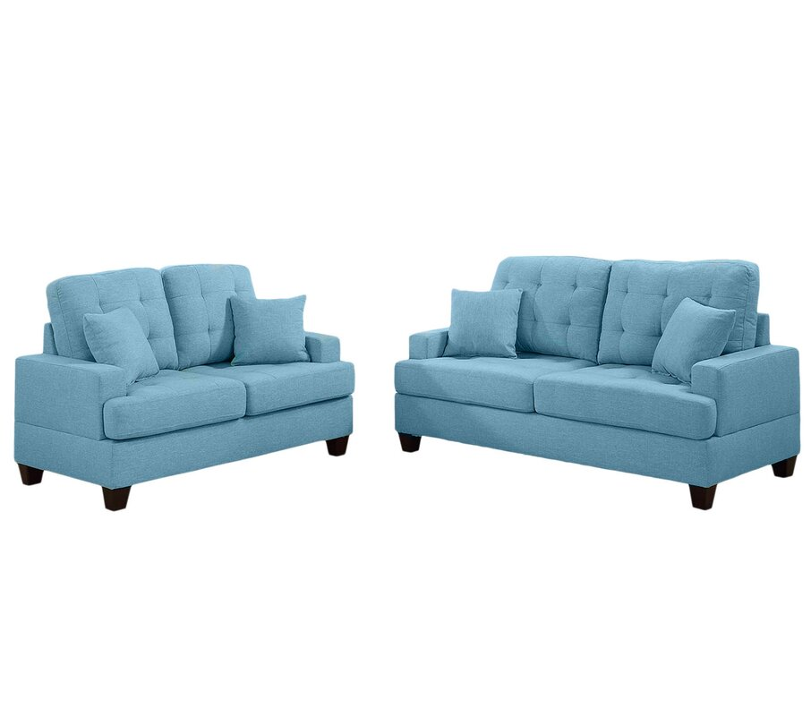 Apartment Size Living Room Sets You\'ll Love   Wayfair