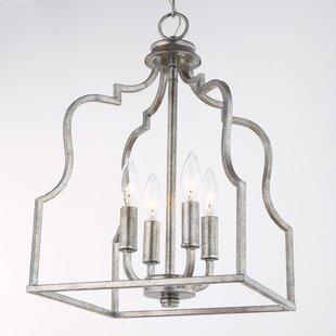 Desloge 4-Light Lantern Pe..