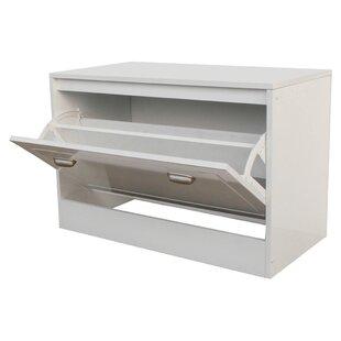 6-Pair Shoe Storage Cabinet by Rebrilliant