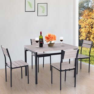 Sirois 5 Piece Dining Set