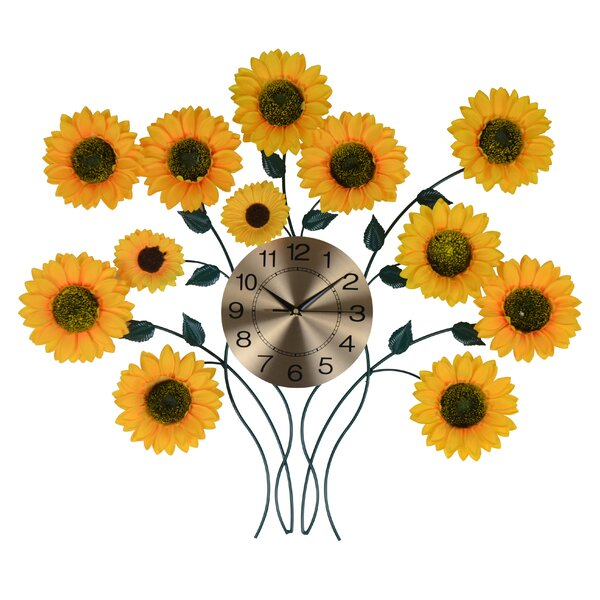 Hanging Cloth Multi Use Holder//Dispenser For Storage-Vibrant Colors Sunflowers