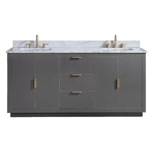 Finck 72 Double Bathroom Vanity Set by Everly Quinn