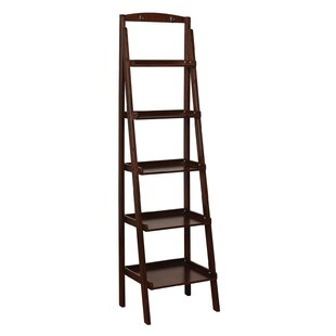 Jacques Shelf Ladder Bookcase by Breakwater Bay Today Only Sale