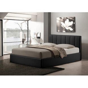 Latitude Run Noon Queen Upholstered Platform Bed