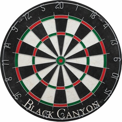 Rounded Wiring Dart Board Black Canyon