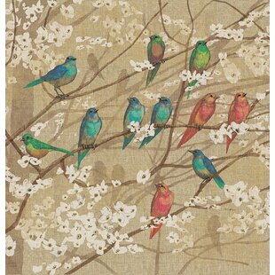 Find for Summer Birds and Blossoms Shower Curtain ByAugust Grove