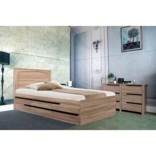 Maley Luxurious Full Storage Platform Bed