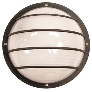 Breakwater Bay Soriano Wall and Ceiling LED Outdoor Bulkhead Light