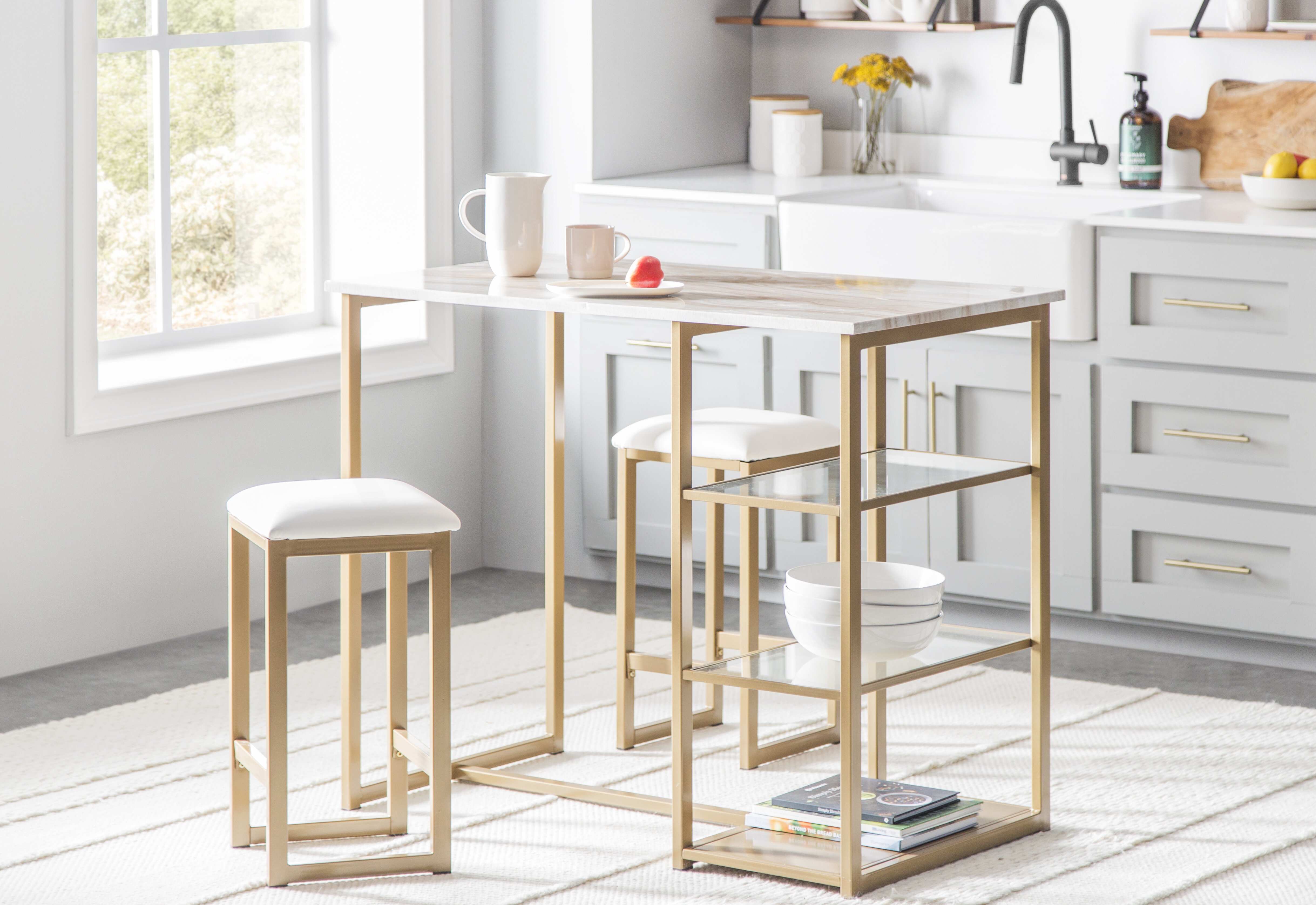 Modern & Contemporary Kitchen Bar Table   AllModern