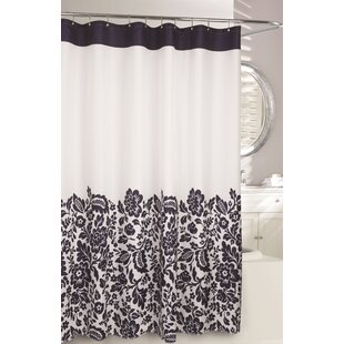 Reviews Bella Fabric Polyester Shower Curtain ByModa At Home