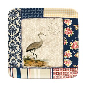 Boardwalk Breeze Melamine Square 8.5