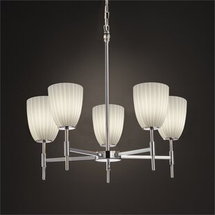 Luzerne 5-Light Shaded Chandelier by Brayden Studio