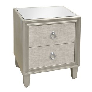 Apollonia Wood 2 Drawer Accent..