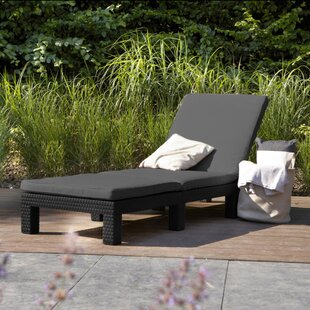 Carper Reclining Sun Lounger With Cushion By Sol 72 Outdoor