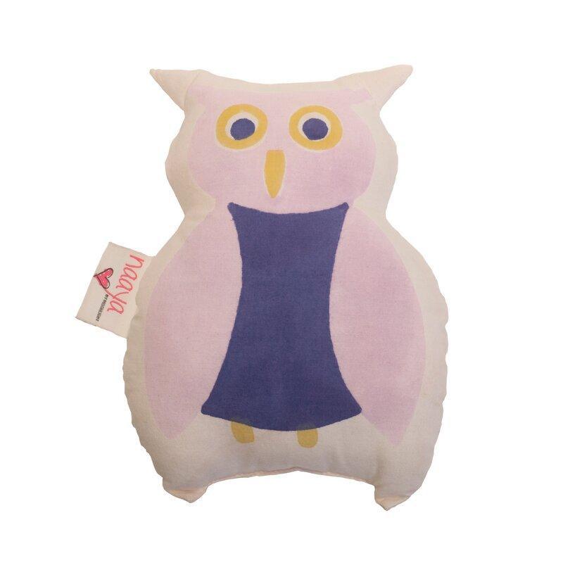 Naaya By Moonlight Owl Cotton Throw Pillow Wayfair