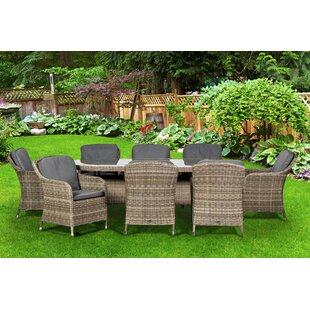 Swindon 8 Seater Dining Set With Cushions Image