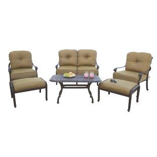 Fleur De Lis Living Calhoun 6 Piece Sofa Set with Cushions