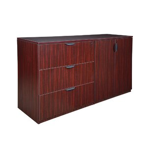 Latitude Run Linh Stand Up Side to Side Storage 3-Drawer Lateral Filing Cabinet