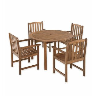 Plow & Hearth Lancaster 5 Piece Dining Set