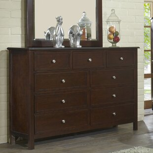 Martin 9 Drawer Double Dresser by Flair
