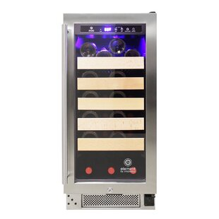 25 Bottle Connoisseur Single Zone Convertible Wine Cooler by Vinotemp