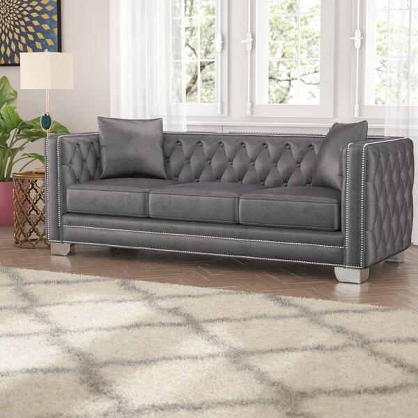Stupendous Tufted Sofa With Nailhead Trim Wayfair Beatyapartments Chair Design Images Beatyapartmentscom