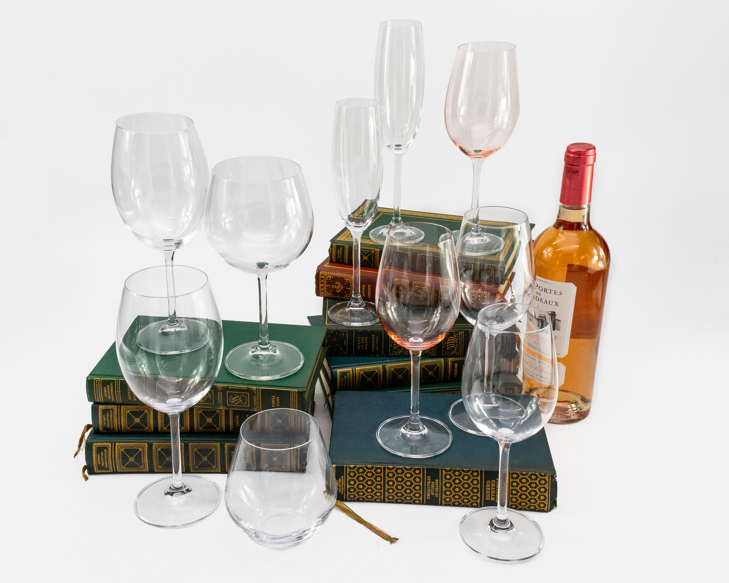 Godinger Silver Art Co Meridian 12 Oz All Purpose Wine Glass Reviews Wayfair