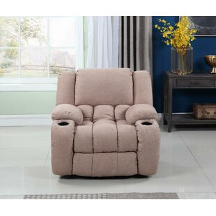 Haigler Manual Glider Recliner Red Barrel Studio