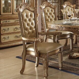 Welles Upholstered Dining Chair (Set of 2) Astoria Grand