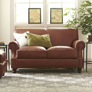 Landry Leather Loveseat by Birch Lane™ ..