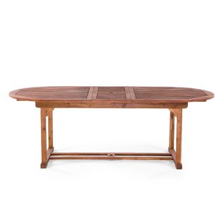 Hadrian Extendable Wooden Dining Table By Union Rustic