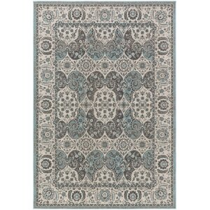 Roosevelt Alto Turquoise / Gray Area Rug