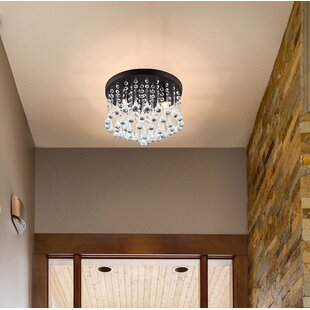Willa Arlo Interiors Kora 3-Light Flush Mount